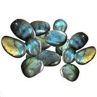 Natural Raw Labradorite Quartz Crystal Moonstone Stone Healing Minerals Craft