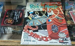 Rick and Morty Treasury - signed w/ sketch by Kyle Starks with COA - Comic Book