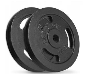 Hop Sport Cast Iron Load Set 2 x 15 kg  Black. Pro Gym  = Good Quality.
