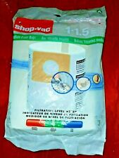 Shop-Vac 90667 Type A Medium Filter Bag, 1-1.5 Gallon 3 Pack