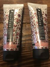2 New Beekman 1802 Goat Milk Honeyed Grapefruit Hand Cream Creme 3.4 Oz Sealed