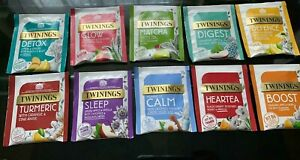 Twinings Tea Bag Superblends Individual Single Tea Sachets Bags Enveloped Tagged