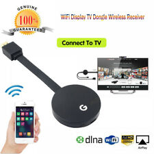 Wifi Display HDMI 1080P TV Dongle Receiver Fits Smartphone Laptop TV LX Black