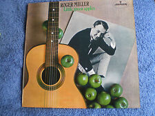 ROGER MILLER - LITTLE GREEN APPLES - 1968 MERCURY LABEL LP - EXC.