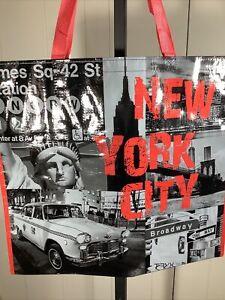 "New XL New York City ""Times Square"" Shopping Bag Reusable Tote Bag - TJ Maxx"