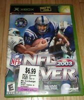 NFL FEVER 2003 - XBOX - COMPLETE WITH MANUAL - FREE S/H - (C1)