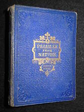 Parables from Nature by Mrs Alfred Gatty - 1864 - 4th Series, Children's Book