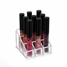 Acrylic Lip gloss Makeup Organizer Cosmetic Case Beauty Holder Clear Box Storage