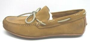 Frye Size 11 Tan Oil Suede Boat Shoes New Mens Shoes
