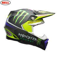 Bell MX Moto-9 Flex Motocross Helmet Pro Circuit Monster 17 Replica Size Large