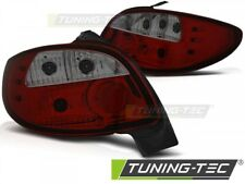 Taillights For PEUGEOT 206 10.98- RED SMOKE..