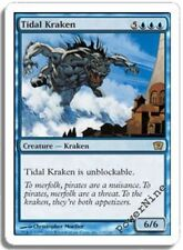 1 FOIL Tidal Kraken - Blue Ninth 9th Edition Mtg Magic Rare 1x x1
