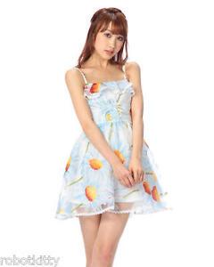 Genuine Liz Lisa WEB LIMITED sunflower pattern organza dress Brand New With Tag