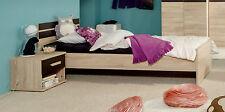 Kinder-Bettgestelle ohne Matratze aus Eiche mit 200 cm