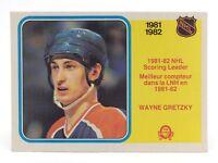 1982 83 OPC O Pee Chee 243 Wayne Gretzky Edmonton Oilers Hockey Card E692