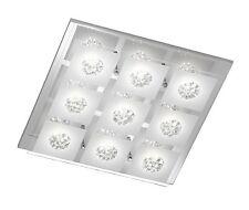 Wofi Deckenleuchte REIMS 9 flammig LED Lampe Chrom Deckenspot