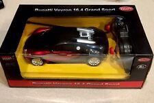🏁 Radio Control Bugatti Veyron 16.4 Grand Sport - Red & Black 1:24 🏁