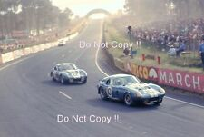 Shelby American & Ford France Shelby Daytona Cobras Le Mans 1965 Photograph