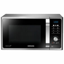 Samsung MS23F301TAS Solo Microwave Oven Silver Healthy cook functions 23 Litre