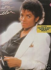 MICHAEL JACKSON Thriller LP/DUTCH/FOC/1982 incl. LYRICS