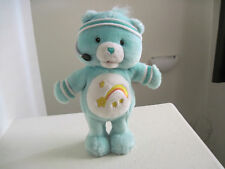 "Care Bears Plush~ 14"" Wish Bear SINGING EXERCISE plush"