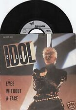 BILLY IDOL Eyes Without A Face 45/GER/PIC
