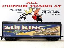 Ho Custom Lettered Air King Brand Grapes Freight Car Collectible Reefer Lot E