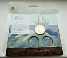 More details for the royal mint 2019 captain cook voyage of discovery bu £2 coin