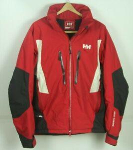 Helly Hansen Helly Tech Mens Ski Jacket Medium Red Black Vented