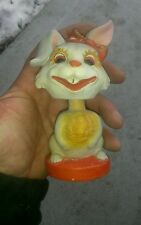 Rare Vintage early  bobble-head  Halloween? ? Cat Bobble Head