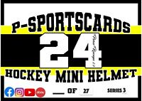 2020 P-SPORTSCARDS24'S PREMIUM SIGNED HOCKEY MINI HELMETS LIVE BOX BREAK #41 NHL