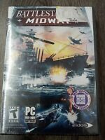 Battlestations: Midway (PC, 2007) Game Complete manual poster disc new!