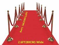 Red Carpet Runner Party Wedding Birthday Floor Decor Scene Setter Prop 16ft/5m