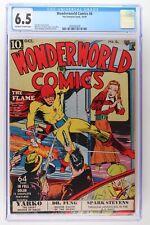 Wonderworld Comics #6 - Fox Features Syndicate 1939 CGC 6.5