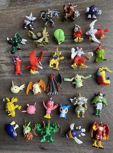 "Genuine 2000 DIGIMON Bandai 2"" Digital Monsters Mini Figures Lot (30) SHURIMON +"