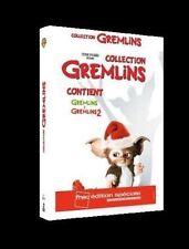 ** COFFRET 2 DVD GREMLINS + GREMLINS 2 ** Neuf emballé