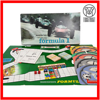 Formula One Car Racing Board Game Vintage Formula 1 Grand Prix Toy Waddingtons