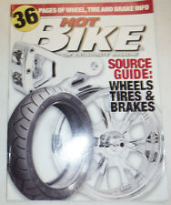 Hot Bike Magazine Source Guide Wheels Tires Brakes 031915R