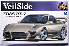 AOSHIMA 1/24 Veilside FD3S Mazda RX-7 Combat model S package ver.R 86 scale kit