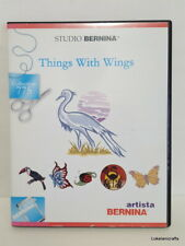 Studio Bernina Embroidery Design Card Collection 775 Things With Wings - Used
