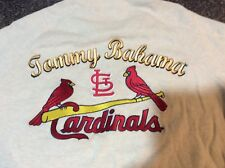 Men's New Tommy Bahama St. Louis Cardinals 1/2 zip LS Baseball Sweater Medium