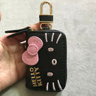 Cute Hello Kitty Bow Auto Car Key Case Cover Girls Gift