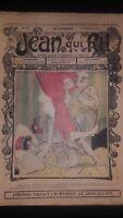 Rivista Jeans Che Rit N° 294 1906 Giornale Illustre che Appaiono Il Venerdì ABE