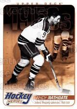 2011-12 Upper Deck Hockey Heroes #3 Andy Bathgate