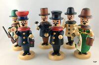 Holz Räuchermannfiguren klein 6-fach sortiert Weihnachten