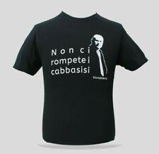 T-Shirt COMMISSARIO MONTALBANO - Non ci rompete i cabbasisi -maglietta- Sicilia