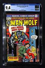 Creatures on the Loose #30 CGC 9.4 Man-Wolf begins