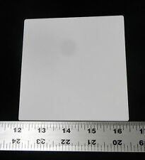 "THIN SQUARE 4.5"" x 4.5"" ALUMINA CERAMIC SHEET SUBSTRATE PLATE SETTER No.: 507"