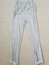 Next Maternity Grey Joggers / Tracksuit Bottoms Over The Bump * Size 8R Regular