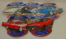 """""""NEW"""" Vintage Cars Snap-on Tools Lot of (5) Tool Box Stickers Decals Man Cave"""
